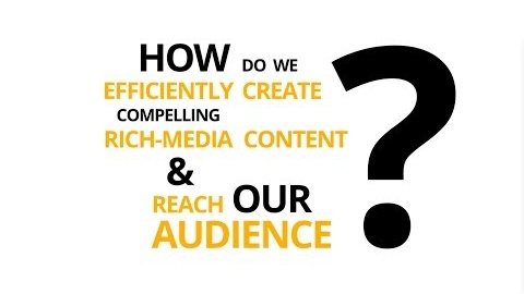 Create compelling rich-media content and reach your audience