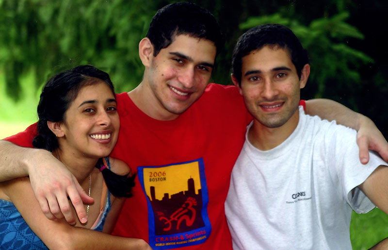 Columbia Journalism Review. The tripathi siblings: Sangeeta, Sunil, and Ravi.